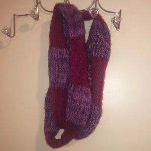 Soft Purple and Pink Scarf